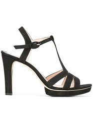 Repetto T Strap Sandals Black