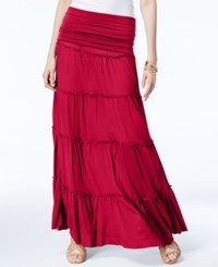 Inc International Concepts Tiered Convertible Maxi Skirt Only At Macy's