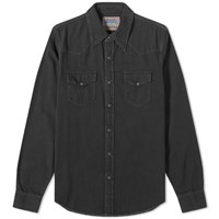 Acne Studios 2001 Western Shirt Black