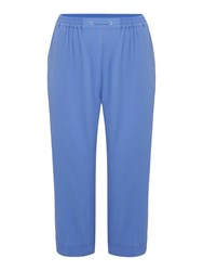 Tigi Crop Trousers Blue