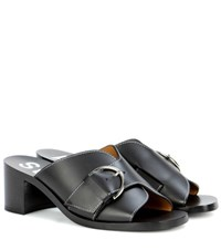 Acne Studios Vikki Leather Sandals Black
