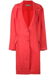 Preen By Thornton Bregazzi Romilly Coat Red