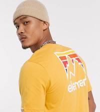 Element Joint T Shirt In Yellow Exclusive At Asos