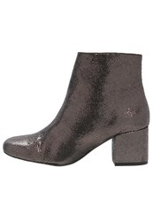 Sixty Seven Sixtyseven Vulcano Ankle Boots Sender Pewter Dark Grey