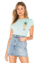 Free People Fruit Medley Tee Blue