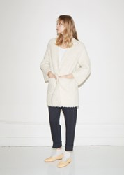 Lauren Manoogian Sherpa Cardigan Off White