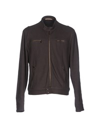 Capobianco Jackets Dark Brown