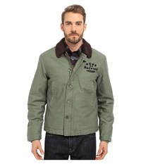 Deus Ex Machina Deck Jacket Army Green Men's Coat