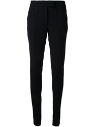 Strateas Carlucci Side Zip Trousers Black