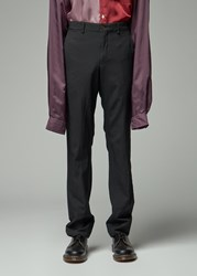 Comme Des Garcons Homme Plus 'S Oxford Pant In Black Size Small 100 Polyester