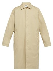 Hope Loose Stretch Cotton Twill Coat Beige