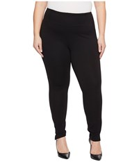 Lysse Plus Size Audrey Ankle Black Women's Casual Pants