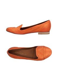 Latitude Femme Loafers Orange