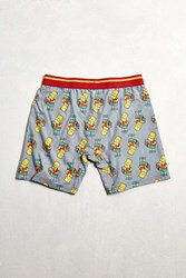 Urban Outfitters Bart Super Squishee Boxer Brief Grey