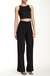 Romeo And Juliet Couture Wide Leg Pant Black