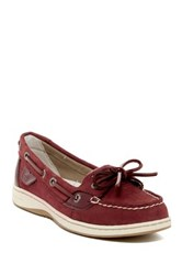 Sperry Angelfish Micro Dot Boat Shoe Red