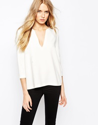 Baandsh Jaco Top In Cream Stone
