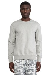 Reigning Champ Core Crewneck Gray