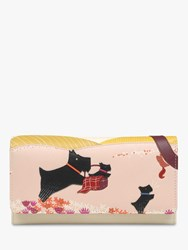 Radley Over The Hills And Far Away Leather Flapover Matinee Purse Multi