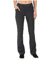 Royal Robbins Herringbone Discovery Strider Bootcut Pants Charcoal Women's Casual Pants Gray