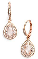Nadri Women's Pear Drop Earrings Nordstrom Exclusive Rose Gold