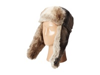 Woolrich Wool Aviator With Faux Fur Lining And Earflaps Black Caps