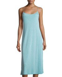 Natori Shangri La Jersey Gown Light Blue