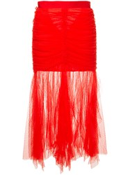 Alice Mccall Just Can't Help It Skirt Red