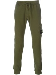 Stone Island Cargo Pocket Track Pants Green