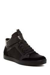 Kenneth Cole Brand Y Hi Top Sneaker Black