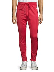 American Stitch Elephant Track Pants Red