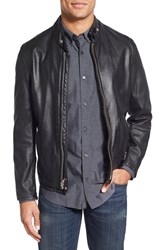Men's Schott Nyc '654' Cafe Racer Leather Jacket