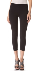 David Lerner Cropped Leggings Black