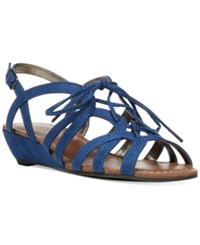 Carlos By Carlos Santana Belle Wedge Sandals Women's Shoes Oceanic Blue