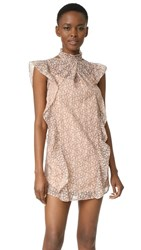 Marissa Webb Alaina Lace Dress Blush Shade
