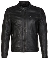 Gipsy Olli 2 Leather Jacket Black