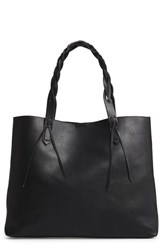 Sole Society Amal Faux Leather Tote Black