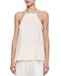Adam By Adam Lippes Adam Lippes Square Neck Flutter Camisole Light Pink