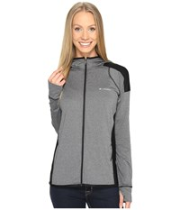 Columbia Saturday Trail Hoodie Black Heather Women's Sweatshirt