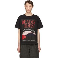 Enfants Riches Deprimes Black Deadly Odds T Shirt Black Multi
