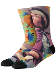 Stance Jimi Flowers Socks Multicolor