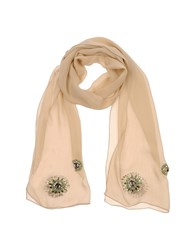 Annarita N. Accessories Stoles Women Beige