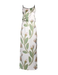 Shirtaporter Long Dresses White