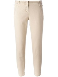 Jacob Cohen 'Brigitte' Trousers Nude And Neutrals