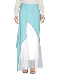 Daniela Dalla Valle Elisa Cavaletti Long Skirts Light Green