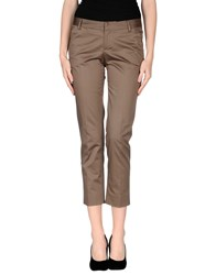 Fabrizio Lenzi Trousers Casual Trousers Women Khaki