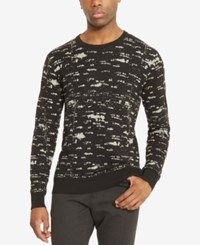 Kenneth Cole Reaction Men's City Lights Sweater Black