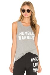 Spiritual Gangster Humble Warrior Muscle Tank Gray