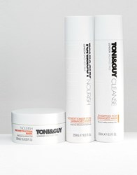 Toni And Guy Damaged Hair Kit Damaged Hair Clear