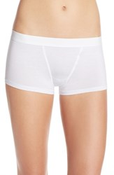 Yummie Tummie Women's By Heather Thomson 'Tessa' Boyshorts White